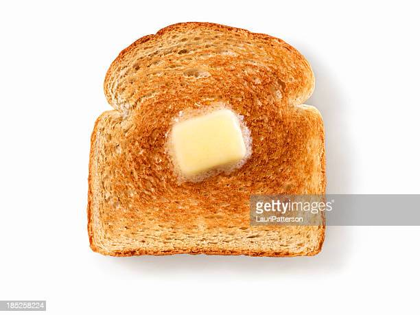 melting butter on white toast - butter stock pictures, royalty-free photos & images