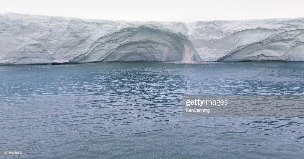 Melting Glacier : Stock Photo