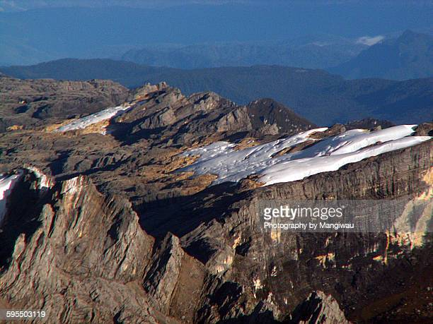 melting glacier - papua province indonesia stock pictures, royalty-free photos & images