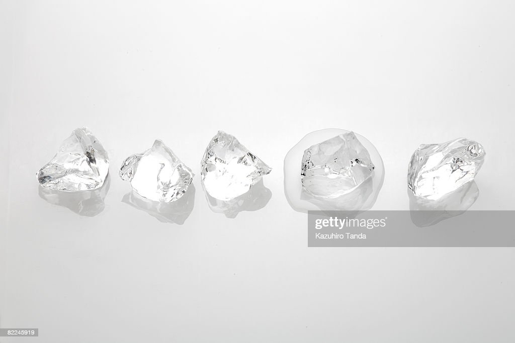 Melting ice : Stock Photo