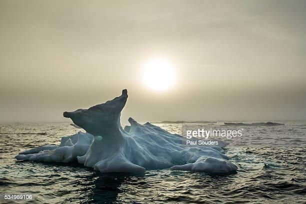 Melting Iceberg, Hudson Bay, Nunavut, Canada