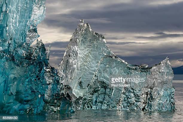 Melting Iceberg in Holkham Bay, Alaska