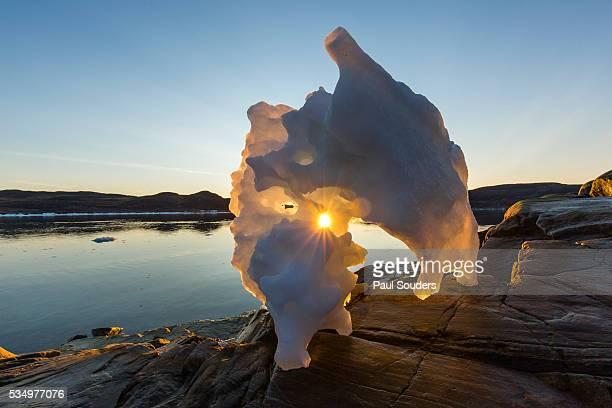 Melting Iceberg, Repulse Bay, Nunavut Territory, Canada