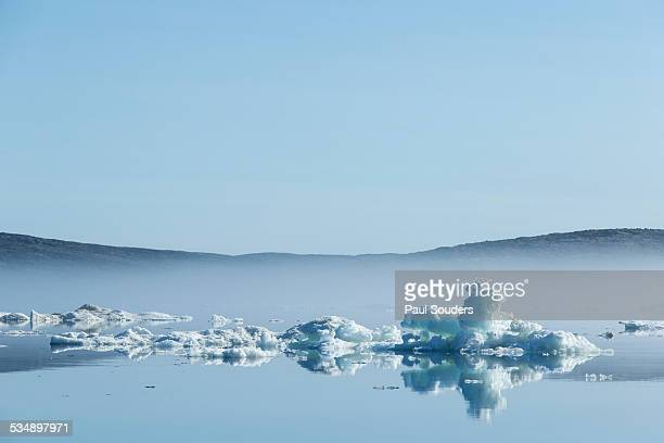 melting sea ice, hudson bay, canada - ice floe stock pictures, royalty-free photos & images