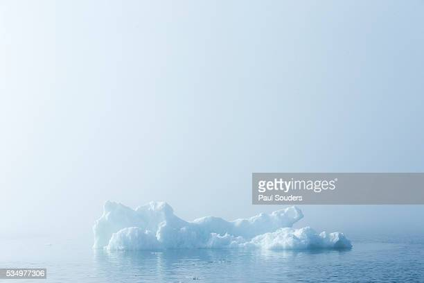 melting sea ice, hudson bay, nunavut territory, canada - image stock pictures, royalty-free photos & images