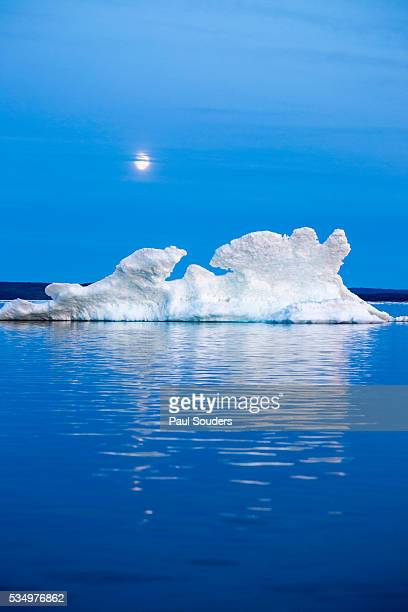Melting Sea Ice, Repulse Bay, Nunavut Territory, Canada
