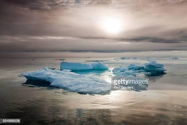 Melting Sea Ice, Svalbard, Norway