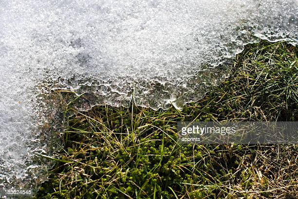 Melting snow and Ice
