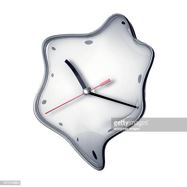 Melting Time, Clock, Watch