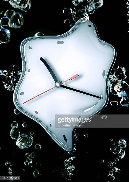 Melting Time, Clock, Watch under water