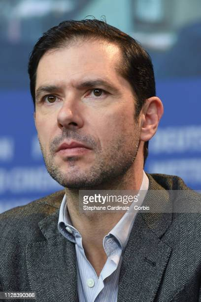 Melvil Poupaud at the Grace A Dieu press conference during the 69th Berlinale International Film Festival Berlin at Grand Hyatt Hotel on February 08...