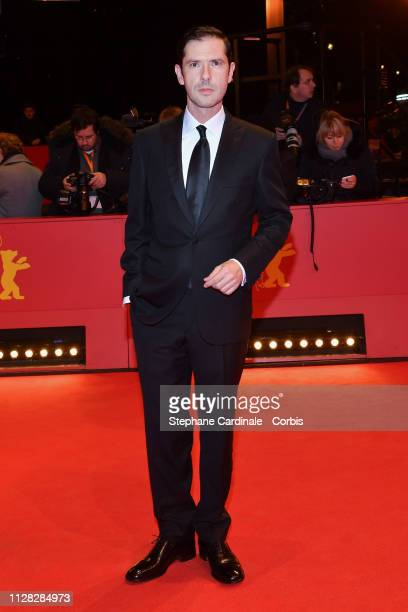 "Melvil Poupaud attends the ""Grace A Dieu"" premiere during the 69th Berlinale International Film Festival Berlin at Berlinale Palace on February 08,..."