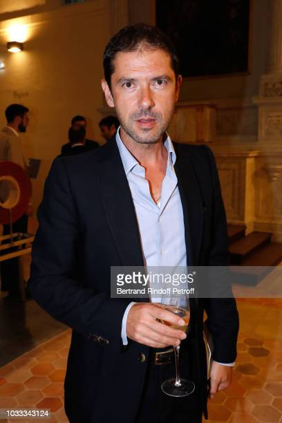 Melvil Poupaud attends the Kering Heritage Days Opening Night at 40 Rue de Sevres on September 14 2018 in Paris France