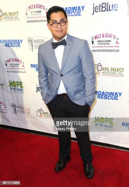 Melvin Biteng attends Broadway to The Rescue a benefit for the homeless at The Montalban Theater on October 14 2017 in Los Angeles California
