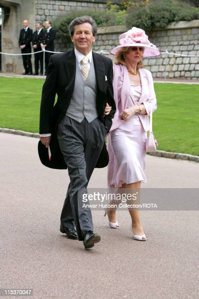 Melvin Bragg during The Royal Wedding of HRH Prince Charles and Mrs Camilla Parker Bowles The Blessing Ceremony Arrivals at St George's Chapel in...