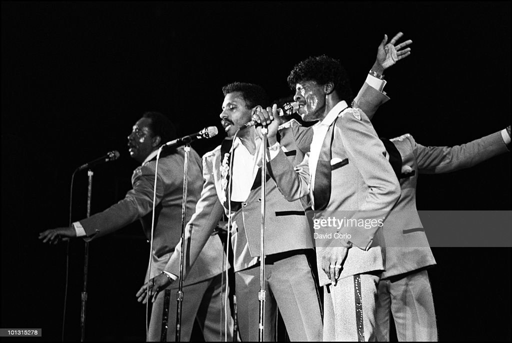 The Temptations And The Four Tops Play A One-Week Special On Broadway; In Profile