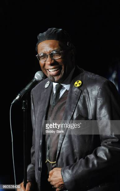 Melvin George performs at The Stress Factory Comedy Club on July 5, 2018 in New Brunswick, New Jersey.