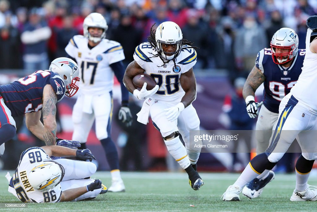 Divisional Round - Los Angeles Chargers v New England Patriots : News Photo