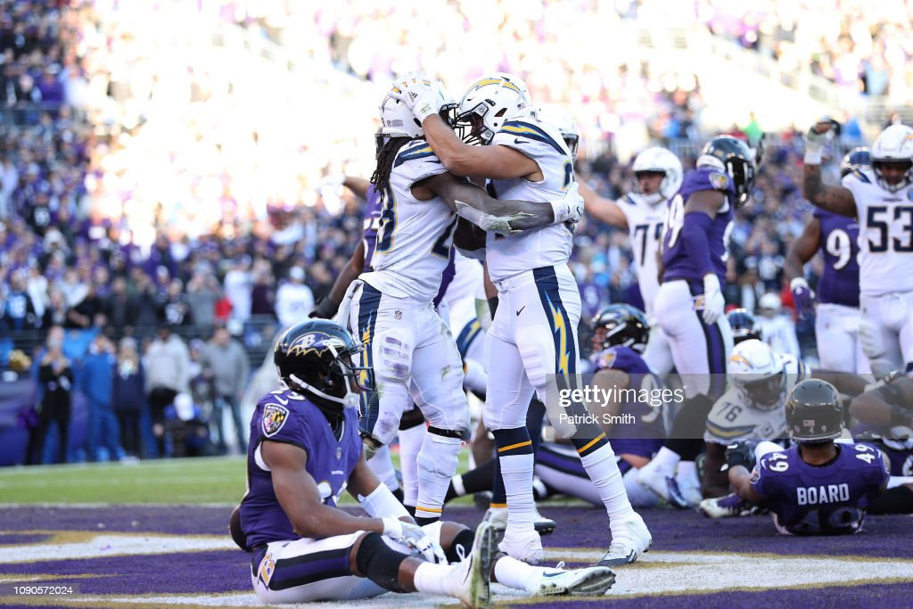 Wild Card Round - San Diego Chargers v Baltimore Ravens : ニュース写真