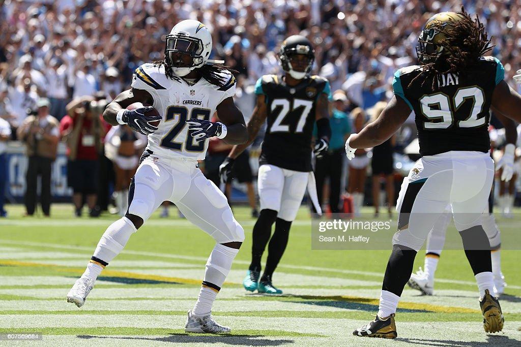Jacksonville Jaguars v San Diego Chargers