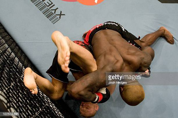 Melvin Guillard def Denis Siver TKO 36 round 1 during the UFC 86 at the Mandalay Bay Events Center on July 52008 in Las Vegas Nevada