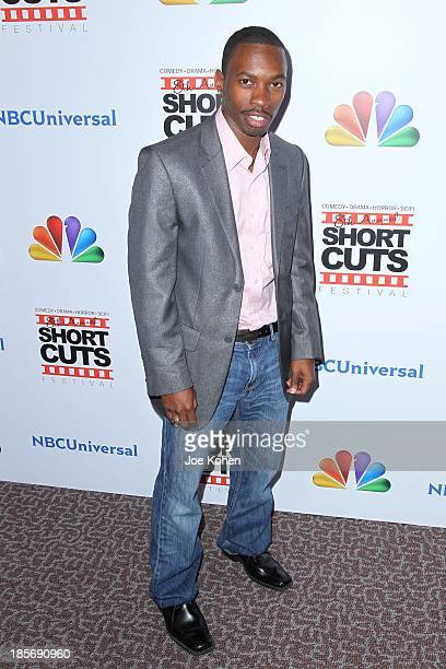 Melvin Jackson attends NBC Universal's 8th Annual Short Cuts Festival Grand Finale at DGA Theater on October 23 2013 in Los Angeles California