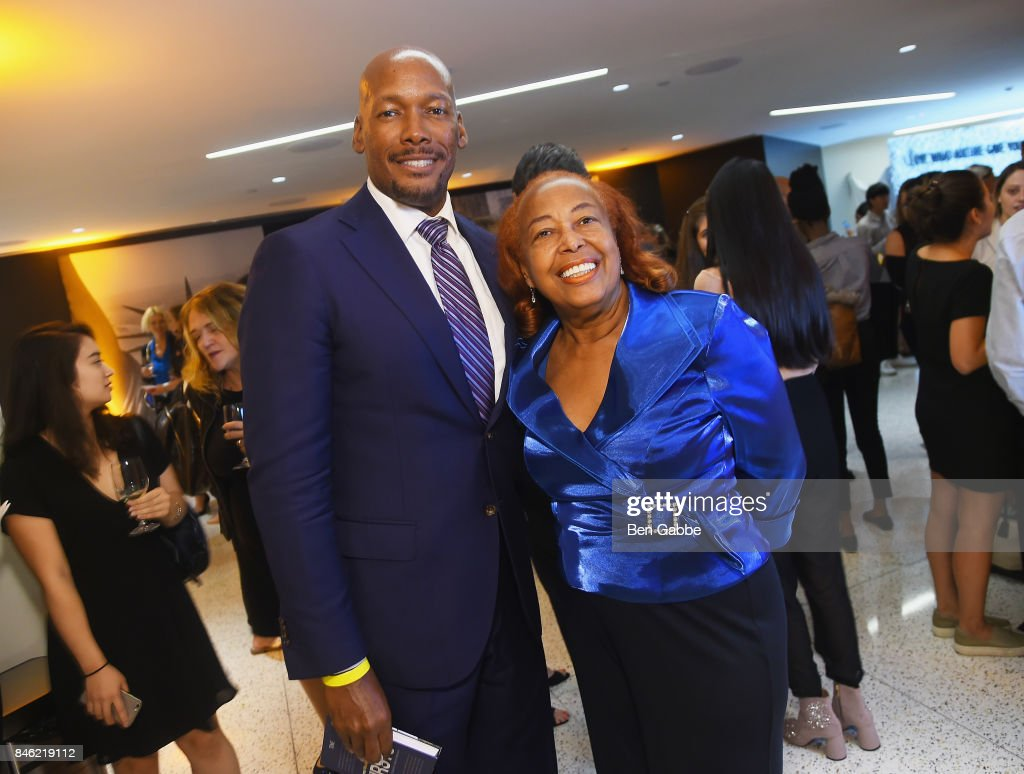 Melvin Oatis and Dr. Patricia Bath attend TIME Celebrates FIRSTS on September 12, 2017 in New York City.