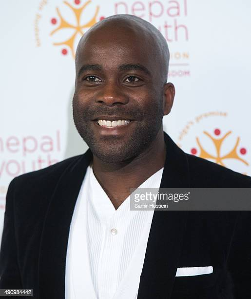 Melvin Odoom attends a fundraising event in aid of the Nepal Youth Foundation at Banqueting House on October 1 2015 in London England