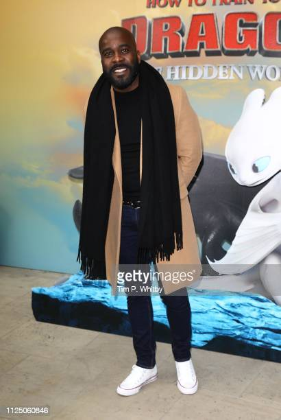 Melvin Odoom attends How To Train Your Dragon The Hidden World – Immersive Screening on January 26 2019 in London England