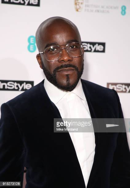 Melvin Odoom attends the EE InStyle Party held at Granary Square Brasserie on February 6 2018 in London England