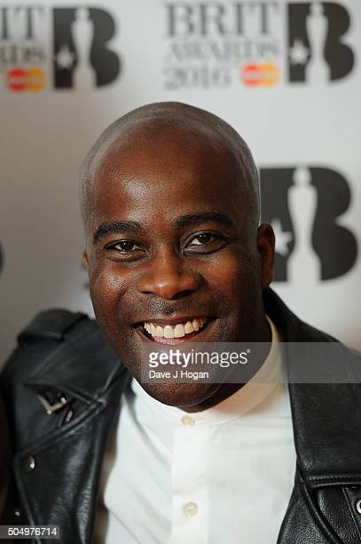 ONLY] Melvin Odoom attends the nominations launch for The Brit Awards 2016 at ITV Studios on January 14 2016 in London England