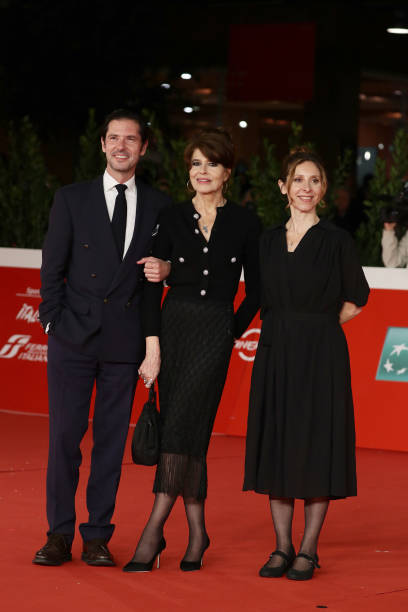 """ITA: """"Les Jeunes Amants"""" (The Young Lovers) Red Carpet - 16th Rome Film Fest 2021"""