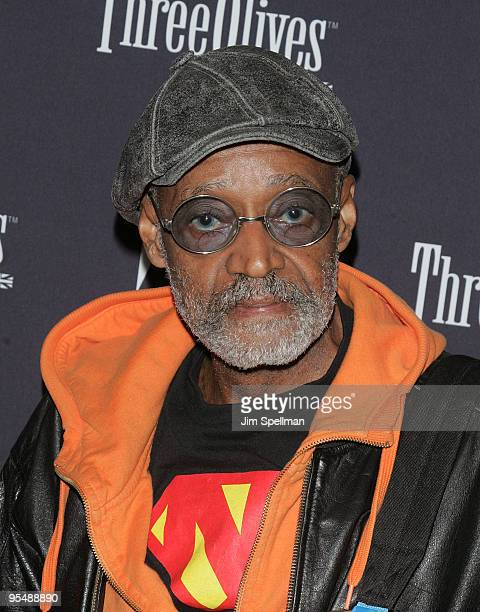 "Melvin Van Peebles attends the Gen Art New York premiere of ""Black Dynamite"" at the AMC Loews 19th Street on October 8, 2009 in New York City."