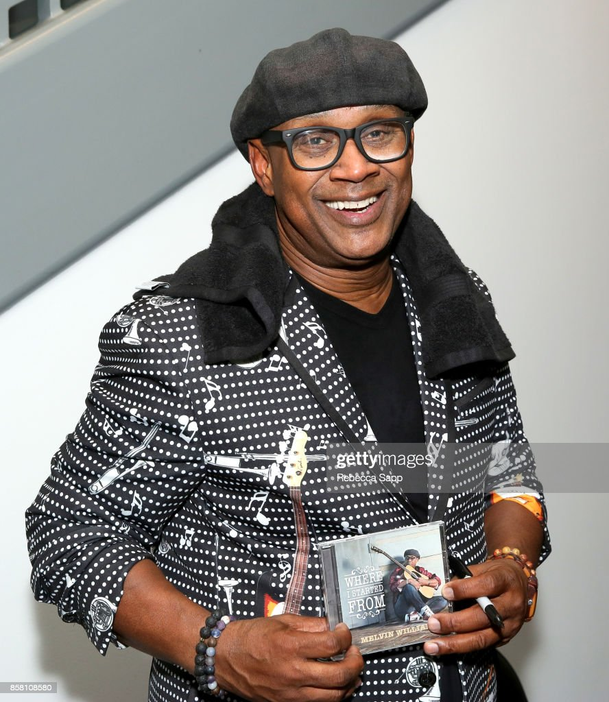 Melvin Williams signs for fans at An Evening With Melvin Williams at The GRAMMY Museum on October 5, 2017 in Los Angeles, California.