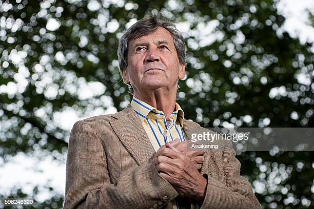 Melvyn Bragg attends the Edinburgh International Book Festival on August 27 2016 in Edinburgh Scotland The Edinburgh International Book Festival is...