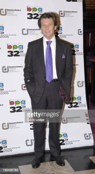 Melvyn Bragg during Broadcasting Press Guild Television and Radio Awards 2006 Arrivals at Theatre Royal in London Great Britain