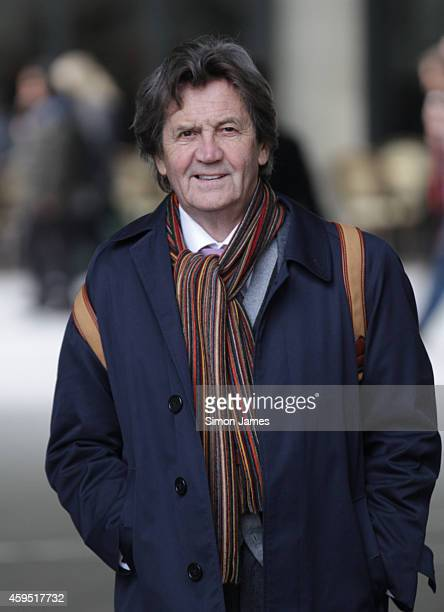 Melvyn Bragg sighting at the BBC on November 24 2014 in London England