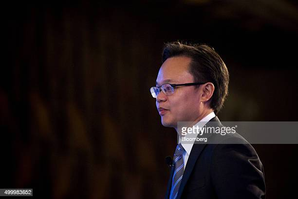 Melvyn Pun chief executive officer of Yoma Strategic Holdings Ltd walks toward a stage at the Bloomberg ASEAN Business Summit in Bangkok Thailand on...