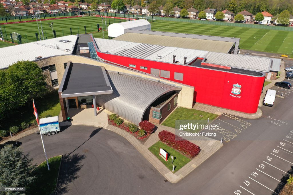Aerial Views Of Melwood Training Ground As Football Remains Suspended Due To Coronavirus : Nachrichtenfoto