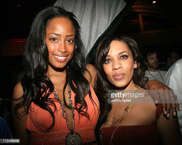 Melyssa Ford and guest during BET Presents 'Rip The Runway' Show and Inside at Roseland Ballroom in New York City New York United States