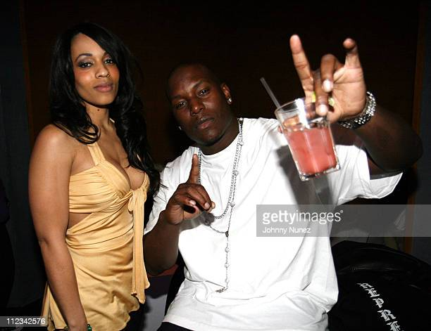 Melyssa Ford and Tyrese Gibson during Beanie Sigel's Birthday Party March 6 2007 at 4040 Club in New York City New York United States