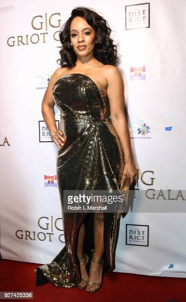 Melyssa Ford attends The GRIOT Gala Oscar Night After Party at Crustacean on March 4 2018 in Beverly Hills California