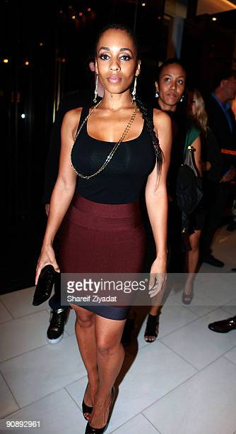 Melyssa Ford attends the Gucci for FFAWN cocktail party at the Gucci Fifth Avenue store on September 16 2009 in New York City