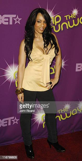 Melyssa Ford during BET's Rip the Runway 2007 Arrivals at Hammerstein Ballroom in New York City New York United States