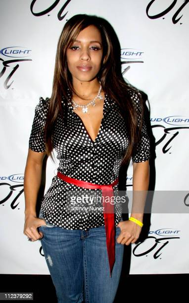 Melyssa Ford during Bud Light OT Tour with Damon Jones Fat Joe at Hiro in New York City April 4 2006 at Hiro at the Maritime Hotel in New York City...