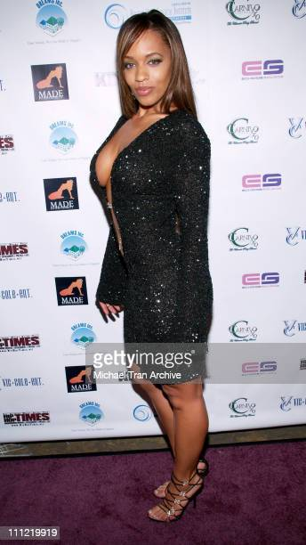 Melyssa Ford during King Magazine's 2nd Annual 'King Size Volume 2' Honoring Nick Cannon at Cabana Room in Hollywood CA United States