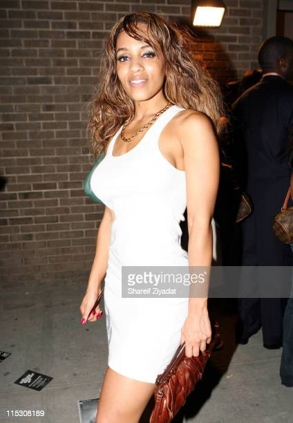 Melyssa Ford during Relaunch of Allhiphopcom Hosted by Jermaine Dupree at The New Space in New York City New York United States