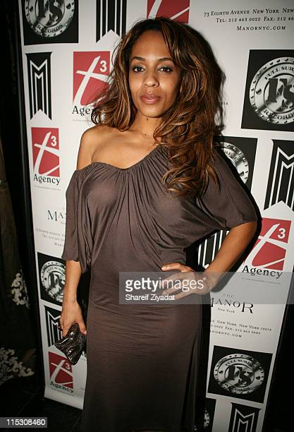 Melyssa Ford during Swiss Beatz Pre VMA/BDAY Party Presented by T3 Agency at Manor in New York United States