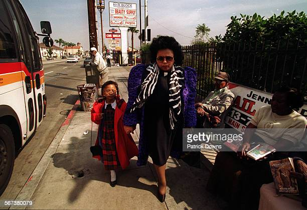 LaVetta Forbes publisher of the slick magazine 'Beverly Hills 90212' a little closer to home at King Bl and Western Ave A many– talented woman she...