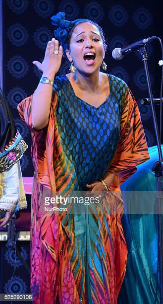Member from Moroccan Hadarrattes Souiriattes group perform at the Sufi festival an International festival of Sufi and traditional music in Kolkata...